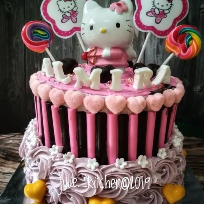 Jual Cake Ultah Hello Kitty Kue Ultah Hello Kitty Kota Depok Julie Kitchen Tokopedia