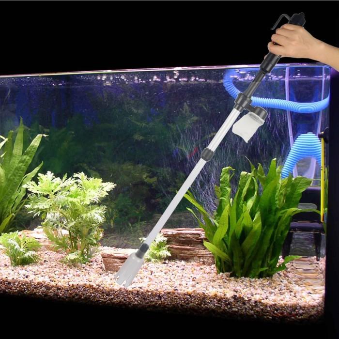 Jual Aquarium Aquascape Vacum Cleaner Syphon Filter Elektrik Kota Tangerang Bloom Aquatic Tokopedia