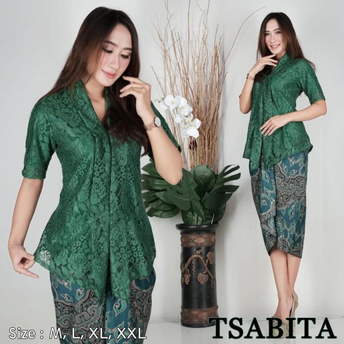 Jual Floy Brokat Pendek Bahan Brokat Gliter Full Furing Warna Hijau Botol Dki Jakarta Bagusgus Tokopedia