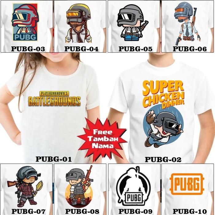 Jual Costum Kaos Logo Pubg Terbaru Lazada Co Id