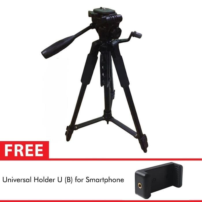 harga Takara lightweight tripod eco-196a for dslr action camera + holder u b Tokopedia.com