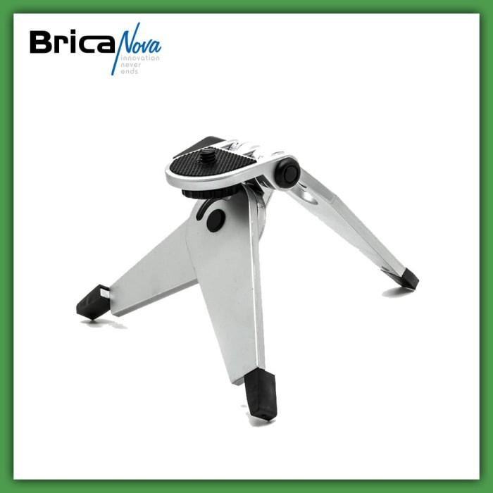 harga Brica mini stand 2 in 1 portable folding tripod jangka original acc Tokopedia.com