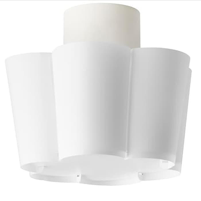 LYSBOJ Lampu plafon, putih