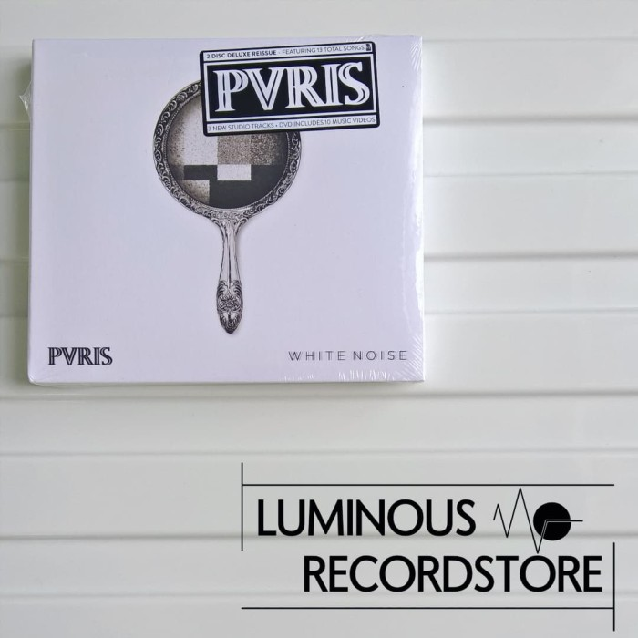 Jual CD PVRIS - White Noise (Deluxe Edition CD/DVD) - Kab  Kapuas -  Luminous Records | Tokopedia