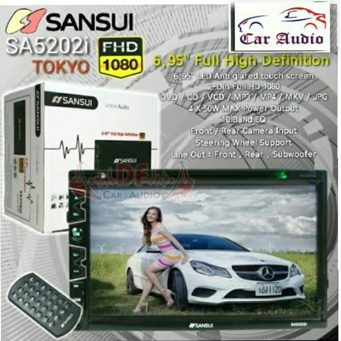 harga Double din sansui full hd dan tv headrest monitor Tokopedia.com