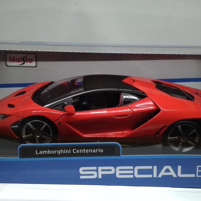 Jual Miniatur Diecast Lamborghini Centenario Special Edition 1 18