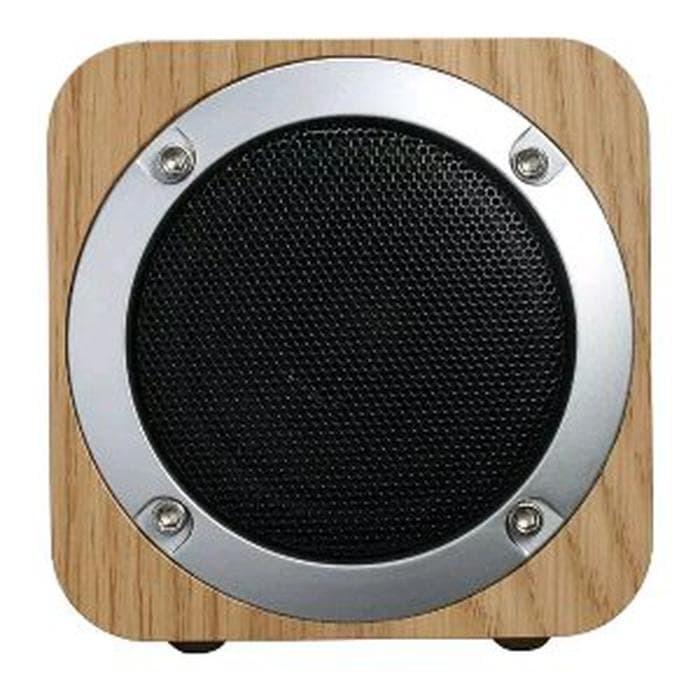 Jual Ap Speaker Bluetooth Wooden Cube Dki Jakarta Ap Aksesoris Hp Tokopedia