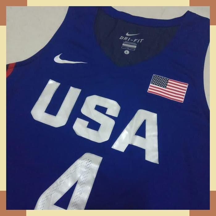 pretty nice d1331 e220c Jual JERSEY BASKET USA STEPHEN CURRY ORIGINAL - Jakarta Pusat - Jersey Klub  | Tokopedia