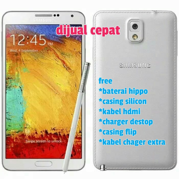 Jual Hp Handphone Samsung Galaxy Note 3 N900 Hdmi Baterai