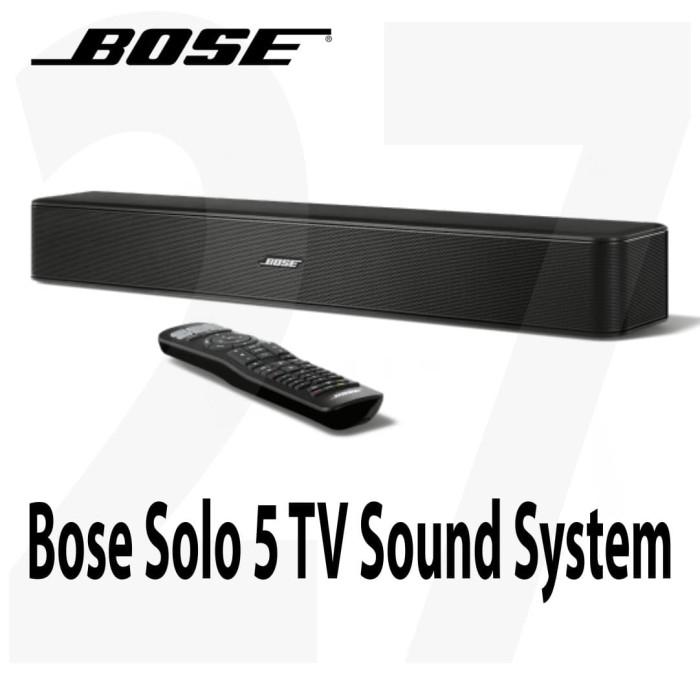 Bose Sound System >> Jual Bose Solo 5 Tv Sound System Garansi Resmi Jakarta Pusat Toko Kamu Tokopedia