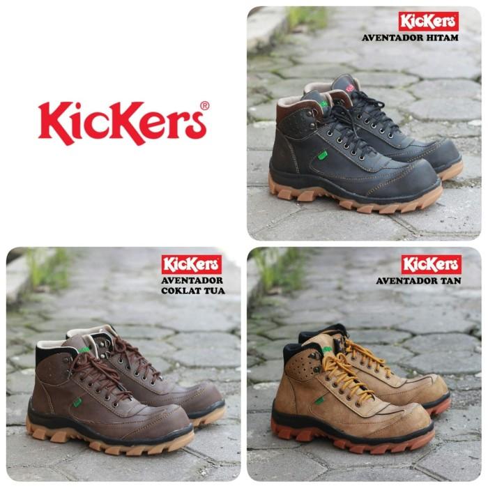Jual Sepatu Safety Boots Pria Kickers Aventador - Pichboy  22da6cdb95
