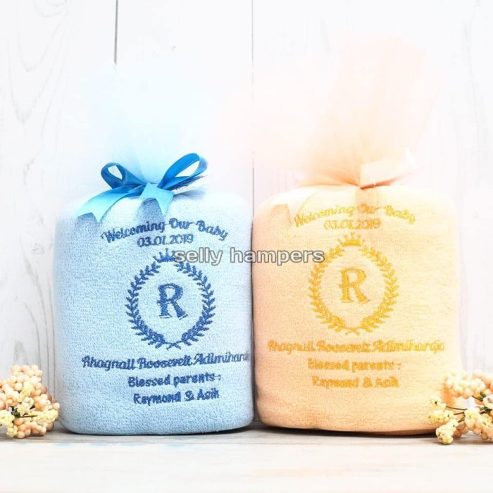 Jual Souvenir Baby One Month Souvenir Handuk Hampers Baby Born Jakarta Barat Selly Hampers Tokopedia
