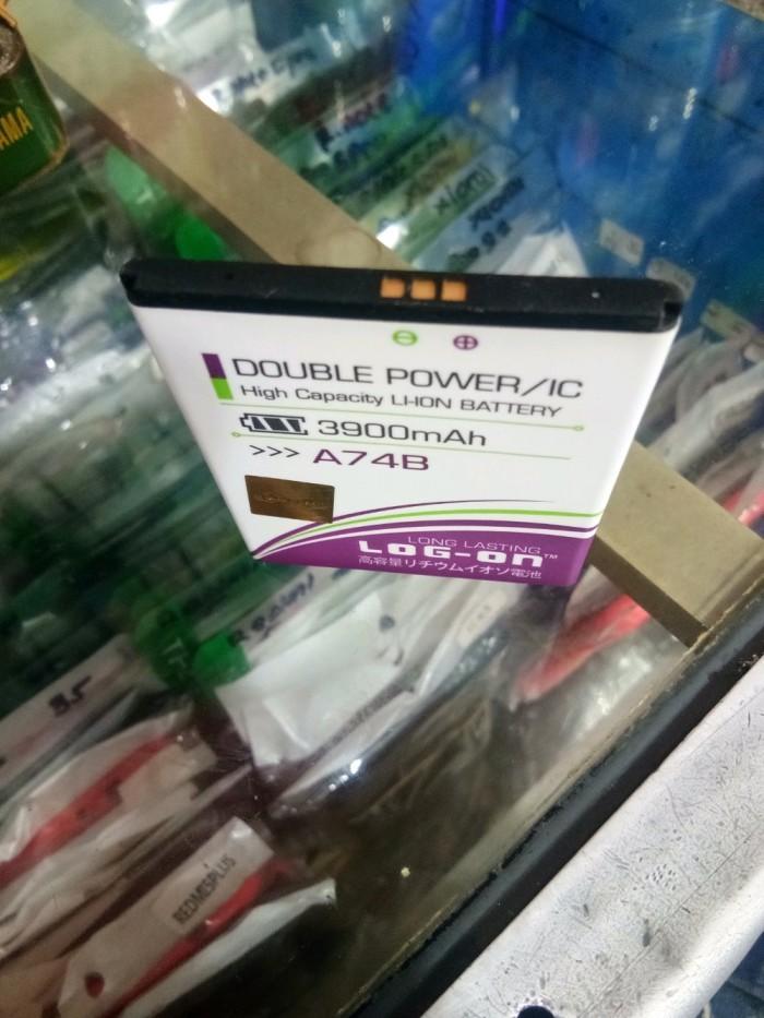 PREMIUM Baterai EVERCOSS A74B merk Log-on Double Power 3900mah MEE