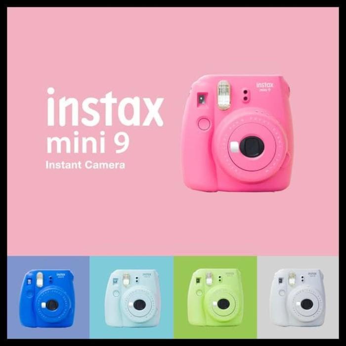 (Big Sale!!) Fujifilm Instax Mini 9 - Flamingo Pink