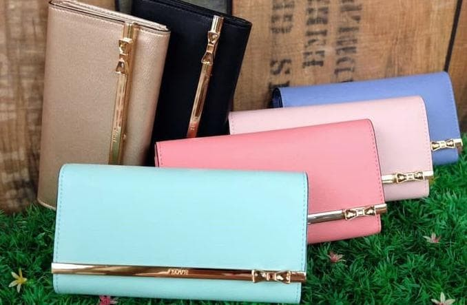 Dompet Wanita / Cewe Fashion Korea Jims Honey - Kqueenstar Tosca Green