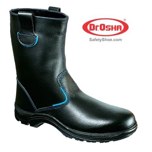 72d4608c531 Jual DR OSHA SAFETY SHOES TIPE Wellington Boot 2388 - Hitam, 46 - CV SURYA  TERANG | Tokopedia