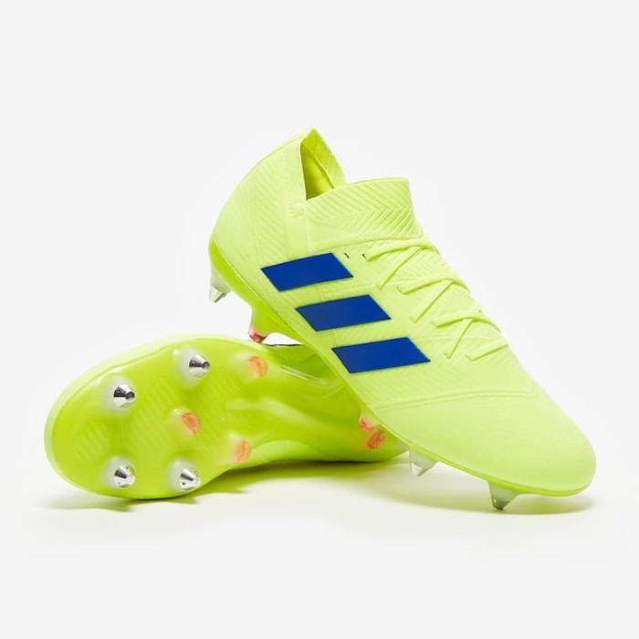 Jual Sepatu Bola Adidas Original Nemeziz 18 1 Sg Yellow Bc0294