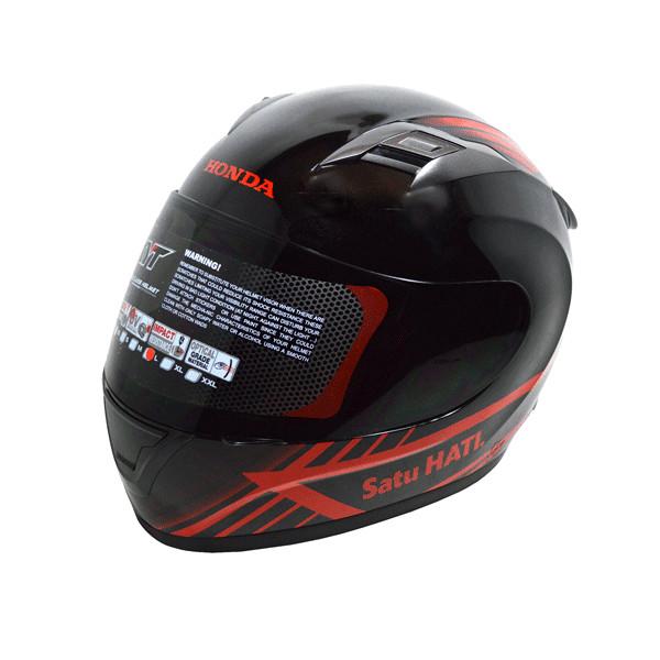 6f2c1a5e Helmet honda full face kyt black red harga ...