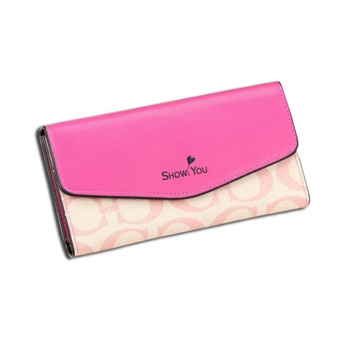 Dompet Cewe Panjang IMPOR 9446 Fashion Korea Women Wanita Long Wallet
