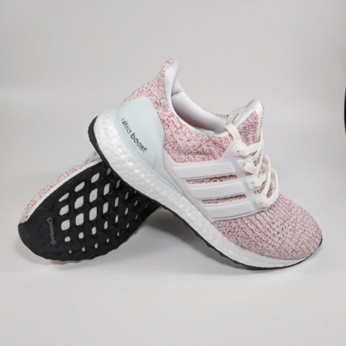 92a10318d43 Jual Adidas UltraBoost 4.0 Women Candy Cane - Pink White - FMR SELL ...