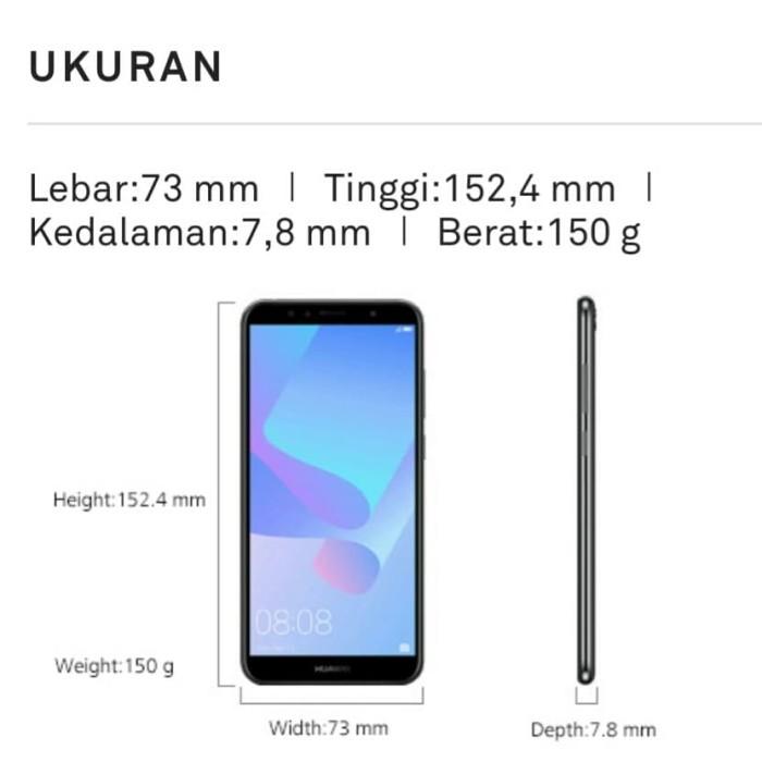 Jual Huawei Y6 Single SIM ( Atu - L11 ) 2GB RAM - 16GB ROM - Kota Medan -  V3 Ponsel | Tokopedia
