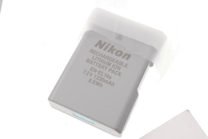 harga Battery/baterai/batre nikon en-el14a Tokopedia.com