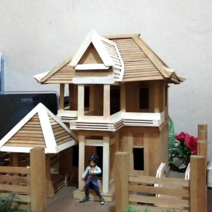 Jual Miniatur Rumah Stik Es Krim Dekorasi - Zendreil Shop  2d3eb310a0