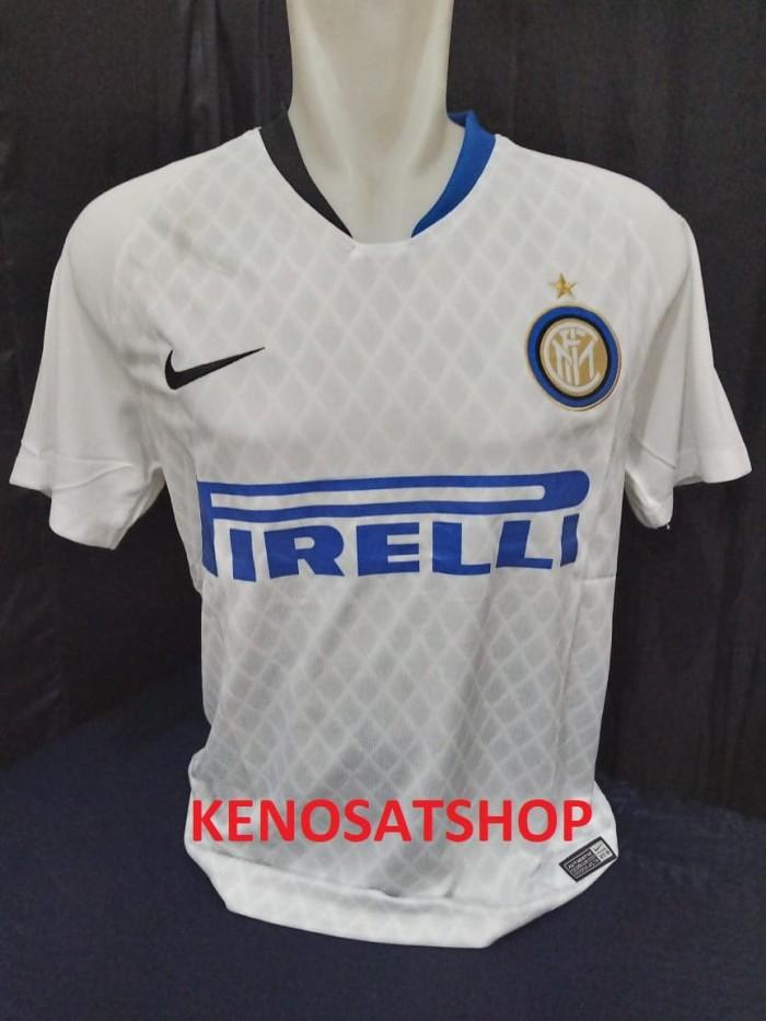 new product e52d0 cf207 Jual Jersey INTER MILAN Away 2018/2019 Grade Ori Thailand TOP GRADE - DKI  Jakarta - Kenosat Shop | Tokopedia
