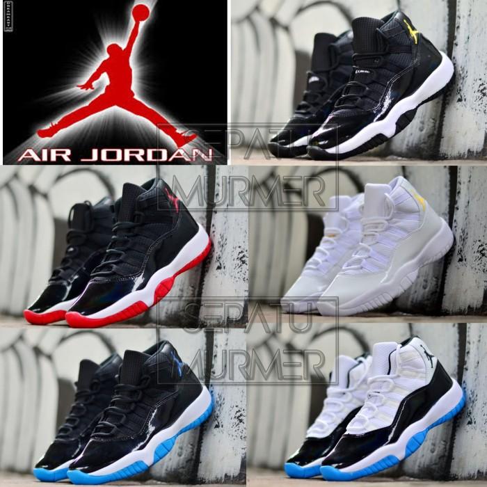 Jual Sepatu Basket Ball Jordan Murah Nike Air Jordan Retro 11 5 ... d71bb1840e
