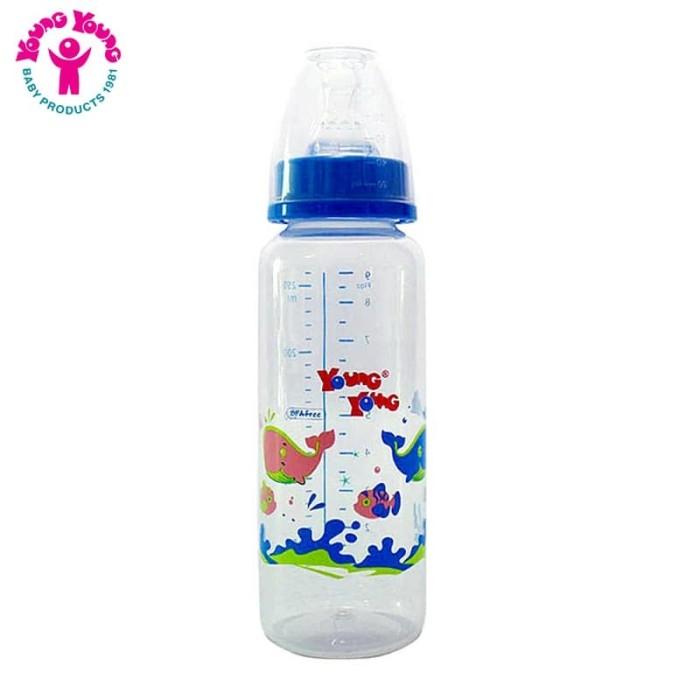 YOUNG YOUNG Botol Susu IL-802-B Baby Bottle 250ML BPA Free - Biru