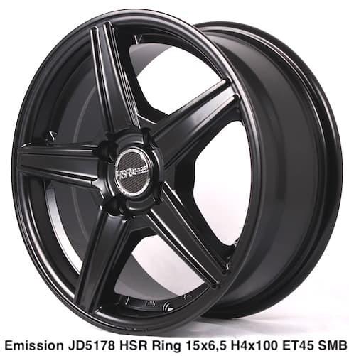 harga Velg hsr emission jd5178 r15x65 h4x100 et45 smb Tokopedia.com