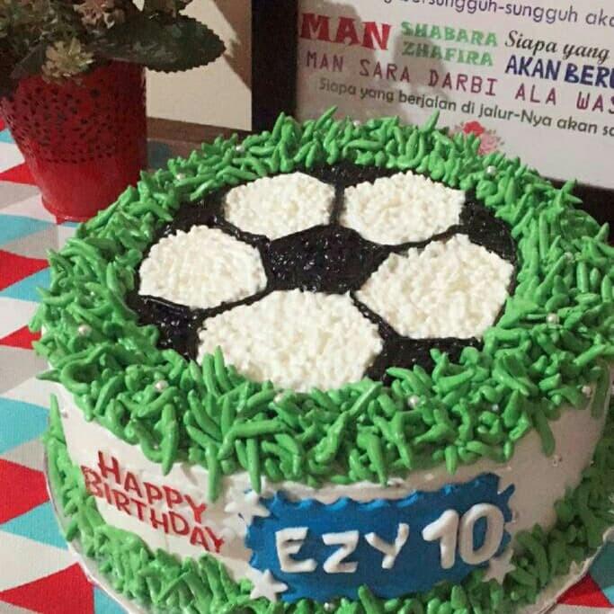 Jual Cake Ultah Bola Kue Ulang Tahun Tema Bola Kota Tangerang Selatan Baju Alya Shop Tokopedia