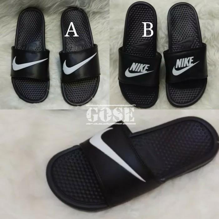 premium selection eccf3 4a48b Sandal Original Nike Benassi Swoosh  Sendal Flip Flop Nike Swoosh