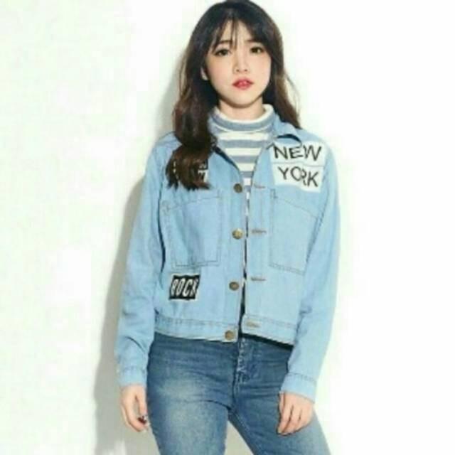 82 Harga Jaket Jeans Model Baru HD Terbaru