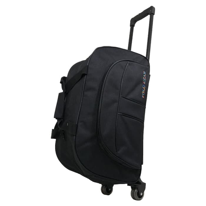 Tas Koper Kabin Travel Bag Trolley Polo Gear Original 8827 Black