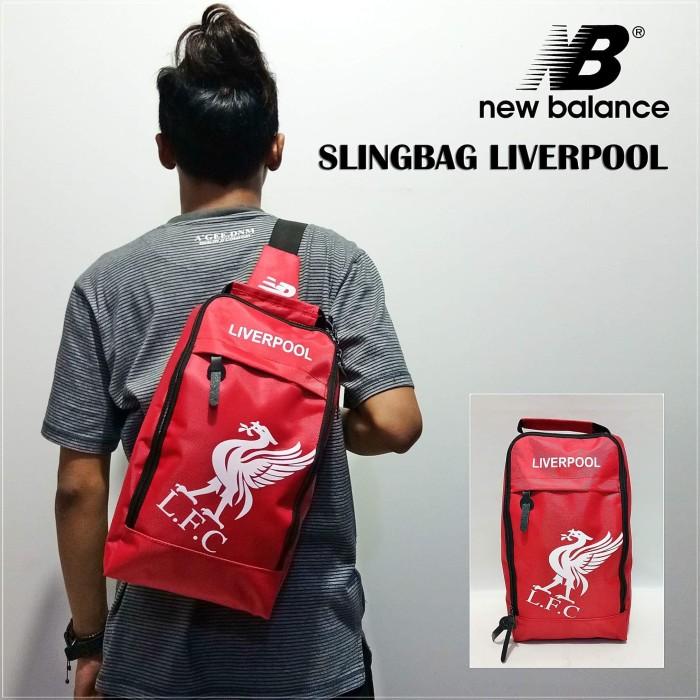 Sling bag tas selempang new balance klub bola liverpool fb6b32d660