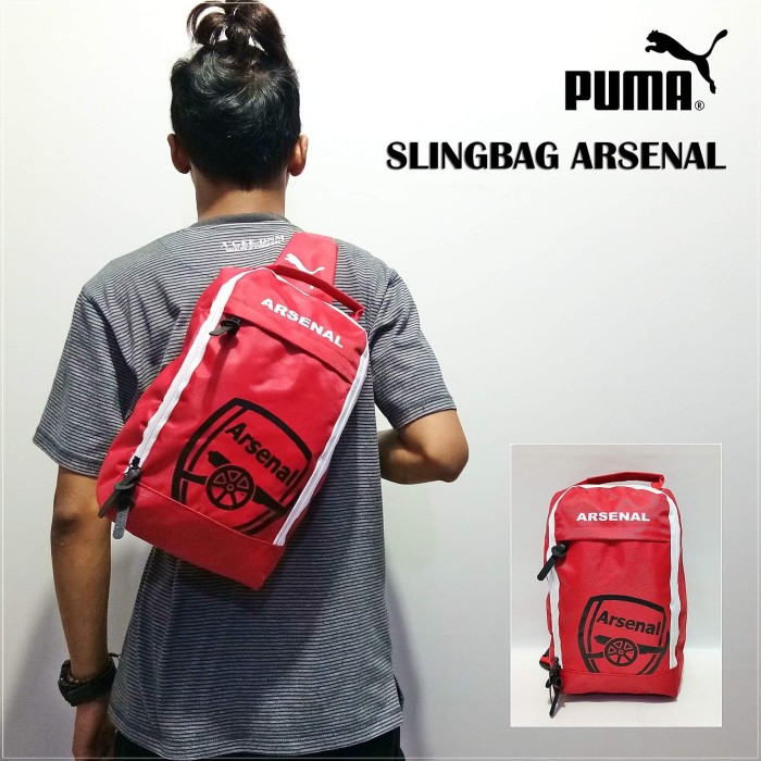 1b48f7c415 Tas Slempang Puma Arsenal - Daftar Harga Terlengkap Indonesia