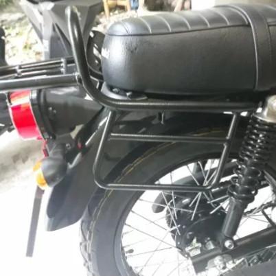 harga Behel belakang kawasaki w175 back rack kawasaki w175 aksesoris motor Tokopedia.com