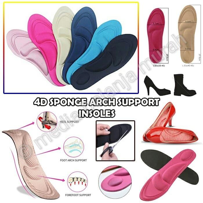 Insole Alas Kaki Kesehatan Arch Support - Spesifikasi Harga Produk ... 76b3109bb4