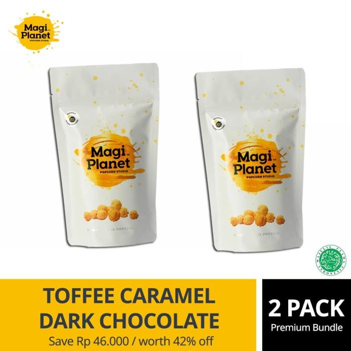 Toffee Caramel & Dark Choco Bundle Pack - Magi Planet Popcorn