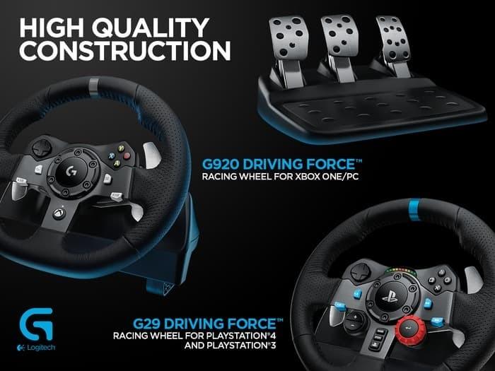 Jual Logitech G29 Driving Force Steering wheel PC PlayStation 3 4 - Kota  Surabaya - anita_market | Tokopedia