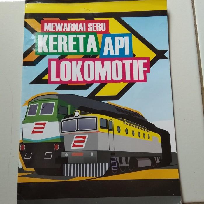 Jual Majalah Mewarnai Kereta Api Lokomotif Kota Depok Sritalita