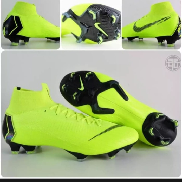 newest c409e 48c8a Jual Sepatu Bola Nike Mercurial Superfly VI 360 Elite Volt - Hijau muda, 39  - DKI Jakarta - Dakosta sport | Tokopedia