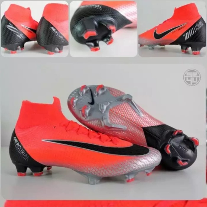 premium selection 3dad1 c0bb7 Jual Sepatu Bola Nike Mercurial Superfly VI 360 Elite CR7 Crimson - Merah  Salem, 39 - DKI Jakarta - Dakosta sport | Tokopedia