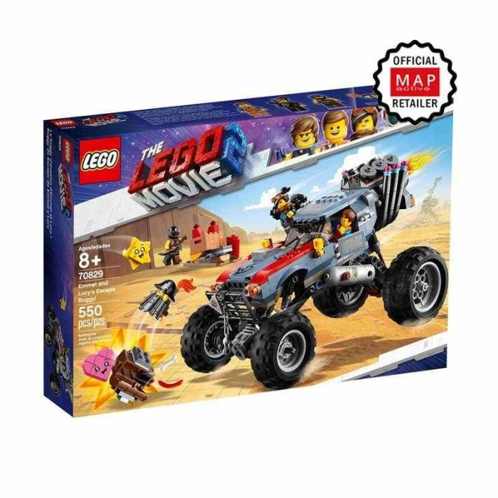 Jual Lego The Lego Movie 2 70829 Emmet And Lucys Escape Buggy Dki Jakarta Carlino Auto Tokopedia