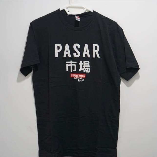 """Foto Produk T-Shirt """"Pasar"""" dari Hunting Pasar Store"""