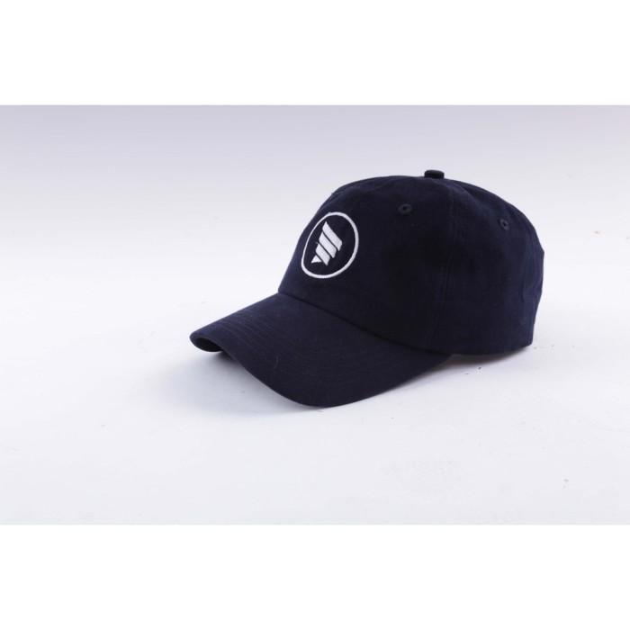 Harga Baseball Cap Polo Cap Dad Hat Topi Distro Murah Hrcn Navy ... 58fbc191c54d