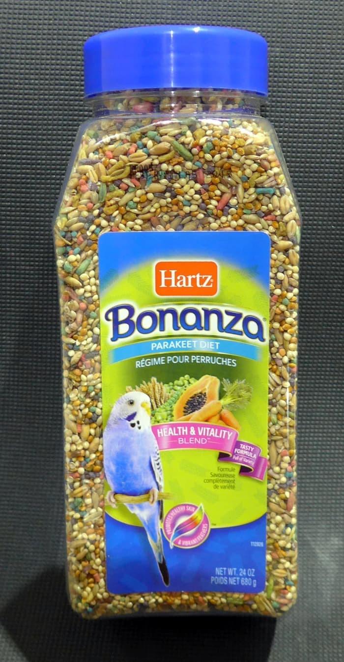 Jual Makanan Burung Parkit Hartz Bonanza Parakeet Diet Blend