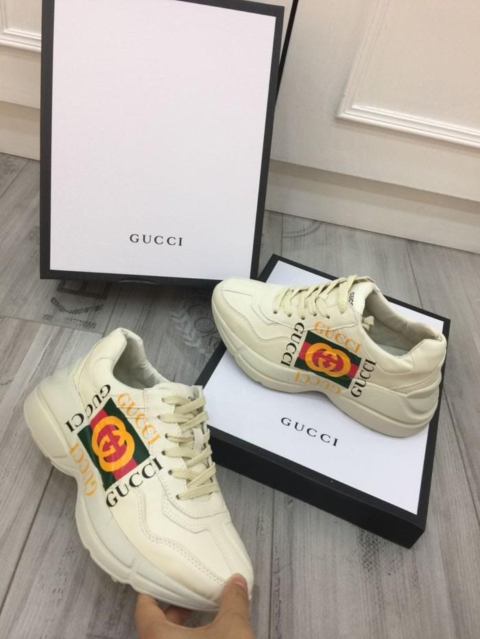 Jual Sepatu Gucci Wanita Pria Terbaru 2019 Gucci Rhyton Logo
