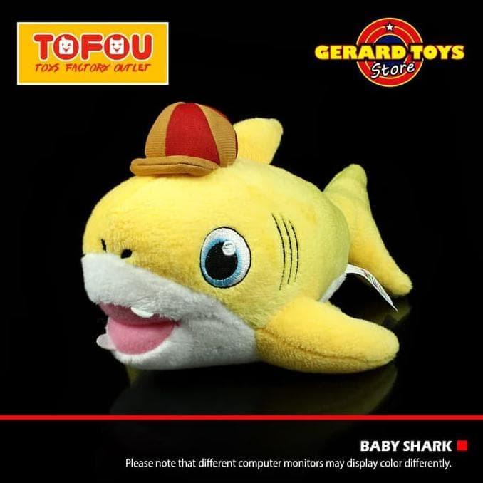 51f350f6fc11 Jual Mainan Anak Boneka Baby Shark Pinkfong Import Sedang 28Cm Murah ...